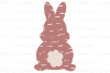 Grunge Bunny - Easter SVG, DXF, AI, EPS, PNG, JPEG example image 2