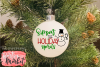 Sippin' The Holiday Spirits SVG DXF EPS PNG example image 5