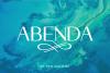 Abenda - Elegant Typeface example image 1