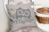 Owl SVG / EPS / DXF / PNG file example image 2