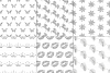 Silver Glitter Seamless Pattern Overlay Clipart example image 3