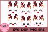 Little Deer Face svg, Buffalo Plaid Svg, Little Deer Vector example image 1