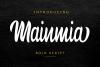 Mainmia Script example image 1