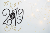 New Year SVG Bundle- Hand-lettered - 11 SVG Cut Files example image 10