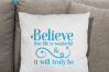 Believe that Life is Wonderful, An Inspirational Life SVG example image 5