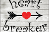 Heart breaker svg -Heart svg -Valentine's day -Valentine example image 1