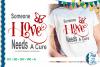 SVG Someone I Love Juvenile Diabetes, Cut File, FWS477 example image 1