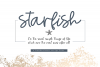 Starfish - Handwritten Script Font example image 1