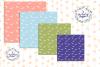 Digital Papers Gecko Lizards Pattern Desert Animals Clipart example image 2