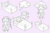 Sandman Fairy Tale Digital Stamps example image 2