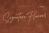 Signature Flavour | Handwritten Font example image 1