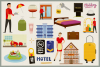 Hotel Service Vector Clipart & Seamless Patterns example image 2