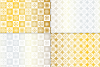 Seamless Silver & Gold Holiday Patterns example image 5