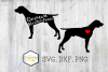 German Short hair Pointer SVG PNG DXF Dog Breed Lover Cut example image 1
