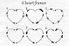Arrows svg, Circle monogram svg, Circle frame arrow, Heart frame, Criss cross arrows, Tribal arrows svg, Boho arrows clipart, Ethnic aztec example image 2