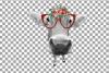 Not today Heifer printable shirt, mug, card floral cow png example image 9