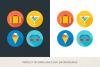 Round Travel Icons example image 4