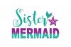 Sister Mermaid SVG | Mermaid Birthday Girl svg example image 1