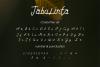 Tabulinta - A Uniquel Font example image 5