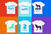 Unicorn Smiles Layered Font plus Bonus Files | Unicorn Font example image 3