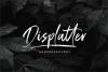 Displatter - Handbrush Font example image 1