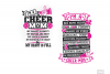 Cheer Mom SVG in SVG, DXF, PNG, EPS, JPG example image 5