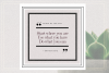 GRUNGE Social Media Quote Banners example image 8