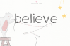 Believe - A Handwritten Scribble Font example image 1