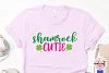 Shamrock cutie - St. Patrick's Day SVG EPS DXF PNG example image 3