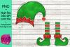 Christmas Elf - Bundle - Hat and Shoes Socks example image 4