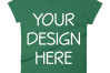 Anvil 880 Ladies Fit T-Shirt Mockups - 17 | PNG|3000x3000px example image 11