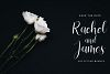 Vessia a lovely script font example image 3