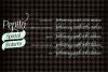 Pepita Script example image 2
