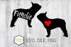 French Bulldog SVG PNG DXF Dog Breed Lover Cut File Clipart example image 1