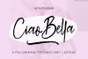 Ciao Bella Font  Extras example image 1