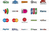 50 Payment Methods Linear Multicolor Icons example image 2