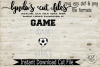 Game Day Vibes//Soccer//SVG//EPS//DXF example image 2