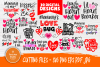 Valentine's Bundle SVG | Cut Files for Crafters | Kids SVG example image 1