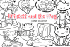 Frog Prince Digital Stamps example image 1