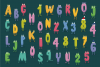 Charm - illustrated letter font example image 6