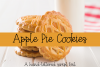 Apple Pie Cookies - A Hand-Lettered Script Font example image 1