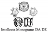 Intellecta Monograms DA DZ example image 3