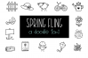 Spring Fling - A Doodle Font example image 1