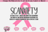 Scanxiety - A Cancer SVG example image 1