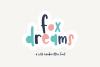 Fox Dreams - A Fun Handwritten Font example image 1