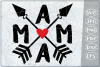 Mama SVG Arrows Crafters Mama Quotes Svg Files Drama Queen example image 1