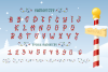 Bright Lights // A Merry Christmas Font example image 6