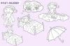 Sandman Fairy Tale Digital Stamps example image 3