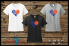 Basketball Heart Cut Out SVG, DFX, EPS, JPG, PNG example image 2