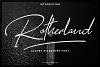 Rotherland - Luxury Signature Font example image 1